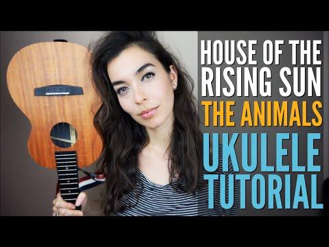 House Of The Rising Sun - The Animals EASY Ukulele Tutorial