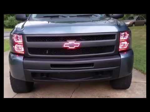 07-13 Chevrolet Silverado  ​ColorMorph™​ ​H​alo Headlight Kits - By LED Concepts