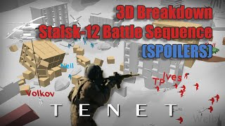 TENET || Stalsk-12 Battle Sequence || 3D Breakdown