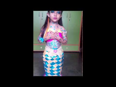 Little cute Mermaid😘 Part 1-  Fancy Dress Competition, Hazaribag
