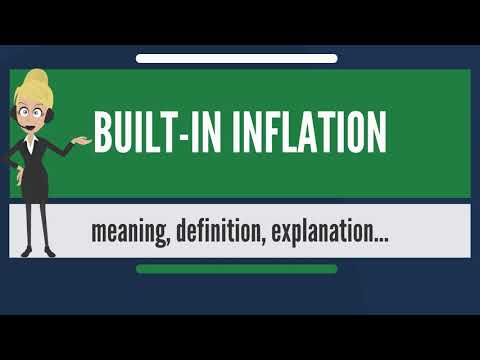 What is BUILT-IN INFLATION? What does BUILT-IN INFLATION mean? BUILT-IN INFLATION meaning