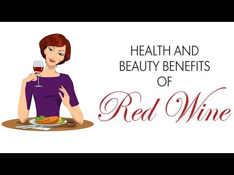 Health and Beauty Benefits of Red Wine