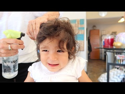 TODDLER'S FIRST HAIRCUT