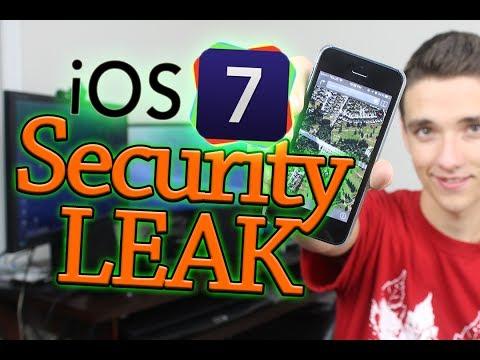 iOS 7 GPS Security Leak?!?!?!