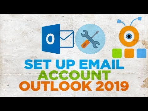 How to Set Up Email Account in Outlook 2019