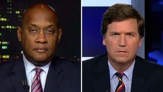 Tucker confronts Dem boycotting Trump inauguration