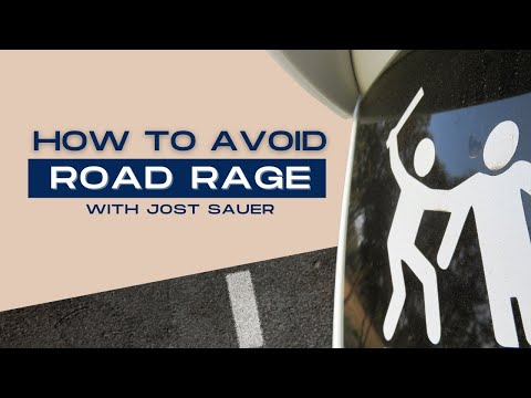 How to avoid road rage by Jost Sauer
