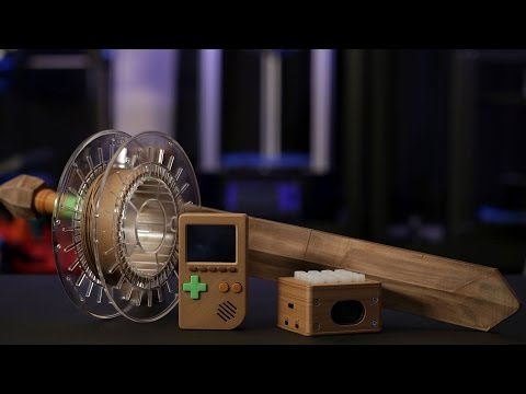3D Printing with Bamboo Wood Filament