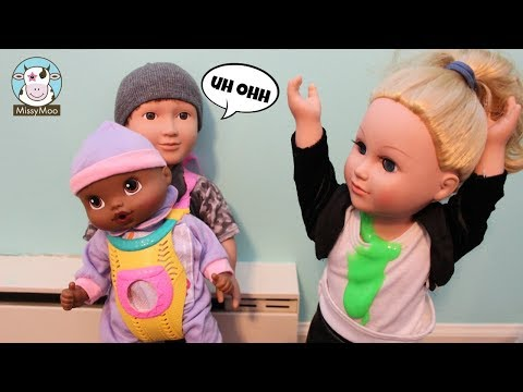 Baby Alive Jackson's Sister throws up on Miley
