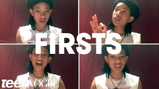 "Willow Smith Shares Her ""Firsts"" With ​Teen Vogue"