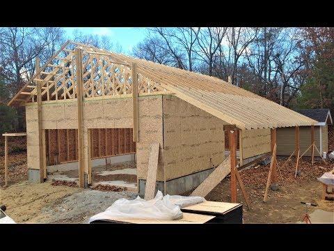 Advanced Framing for Energy Efficient Garage Workshop