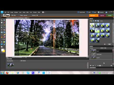 Photoshop HDR Tutorial Element 8
