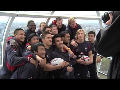 Hong Kong Sevens squad sees the sights in London