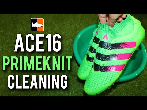 How to Clean the adidas ACE16+ Primeknit Boots - Cleaning/Maintenance Tutorial