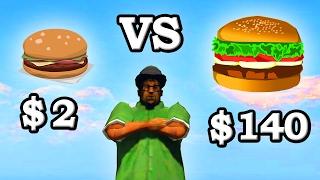 GTA 5 - $2 VS $140 Burger