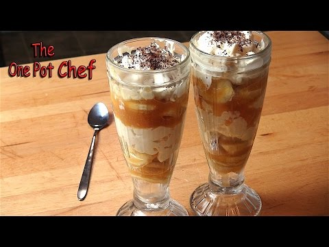 Banoffee Mess | One Pot Chef