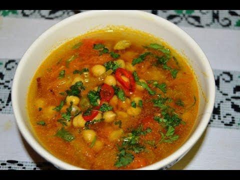 Chick Peas Soup (Garbanzo bean Soup)