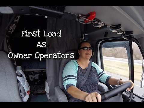 FIRST LOAD AS OWNER OPERATORS   2/13/17 To 2/15/17   Expediter Team Vlog