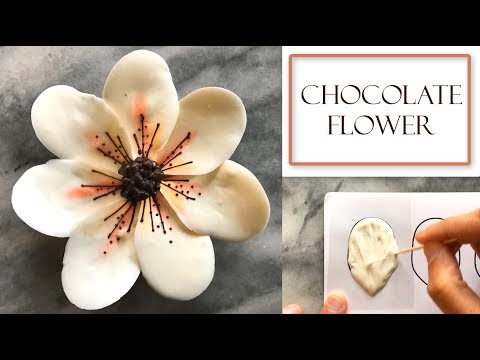 How to Make a Chocolate Flower | Magnolia Style Design