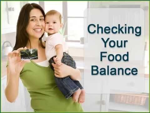 Checking Your Food Balance