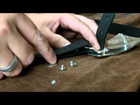 How to Change the Buckle on your Belt: Rivet Belts