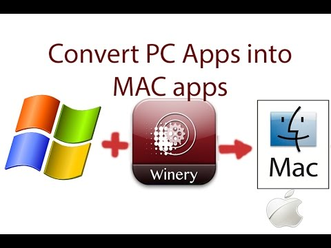 How to install PC Applications on MAC