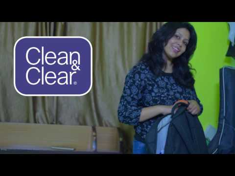 Clean & Clear Morning Energy face wash with Brightening Berry-A College Girl
