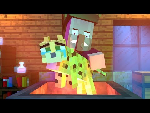 Witch vs Ocelot Life - Rusplaying Minecraft Animation
