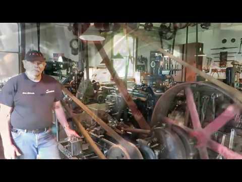 OLD STEAM POWERED MACHINE SHOP 40  Oversize piston #2