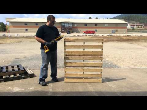 HOWTO: BEST Way to DIY Disassemble Pallets for Reclaimed Wood