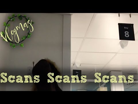Vlogmas 10... MRI and PET scans in London