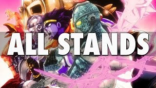 ALL STANDS IN STARDUST CRUSADERS