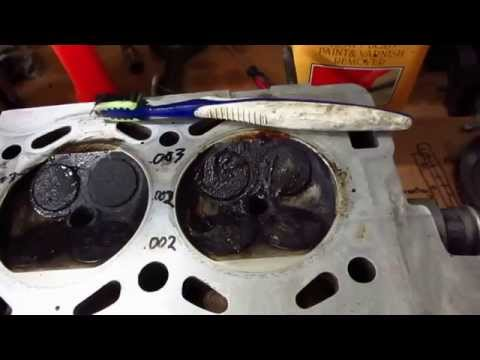 piston and head cleaning decarbonizing diy shootout part 3