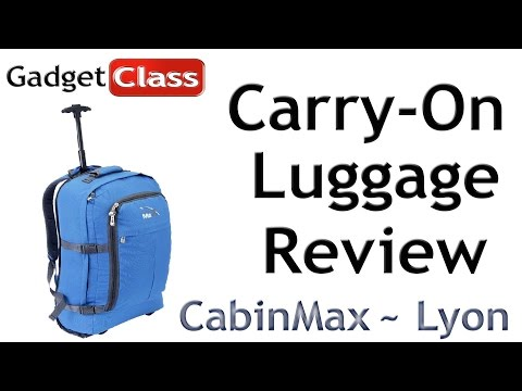(:Review:) CabinMax Lyon~ Carry-On Size Approved Luggage ~Spirit/United/American/Delta/Ryan Airlines