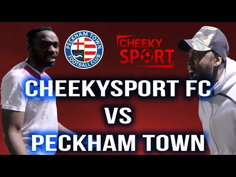 CHEATING REF! |  5 GOAL THRILLER | CHEEKYSPORT FC VS PECKHAM TOWN FC