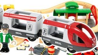 Download Brio tren rayları yapıyoruz. Erkek çocuk oyuncakları Video