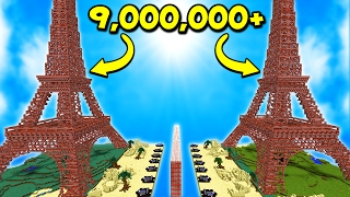 HOW MUCH TNT DOES IT TAKE TO BLOW UP THE EIFFEL TOWER!?