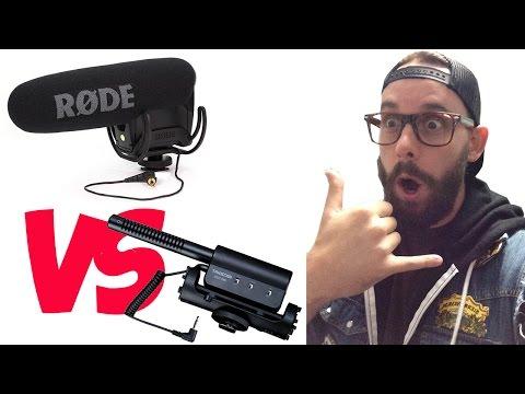 RODE VIDEOMIC PRO vs TAKSTAR SGC-598 MIC vs BUILT IN MIC (CANON T3I)