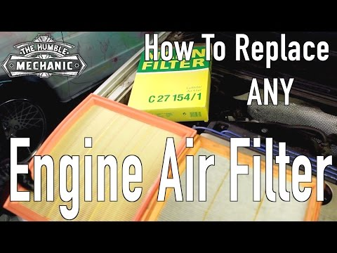 Tips for Replacing ANY Car's Air Filter