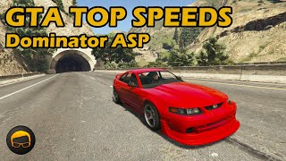 Fastest Tuners (Dominator ASP) - GTA 5 Best Fully Upgraded Cars Top Speed Countdown