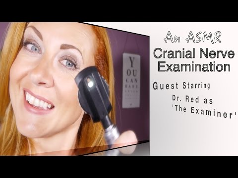 ASMR Cranial Nerve Exam | Eye & Hearing test | Relaxing Personal Attention