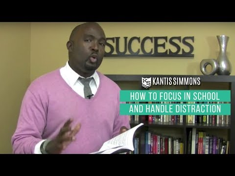 How to Focus in School: Back to School Studying Advice - Kantis Simmons