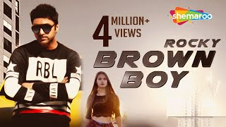 New Punjabi Songs 2016 | Brown Boy | Official Video [Hd] | Rocky | Latest Punjabi Songs