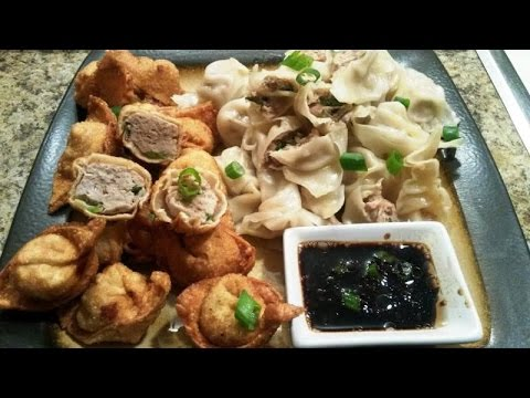 Fried/Steamed Wonton with Special Sauce