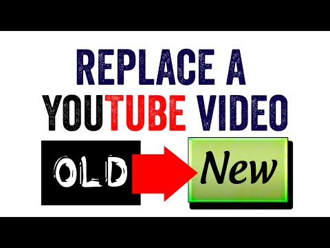 How to Replace a Video on YouTube | Redirect