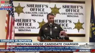 FNN: Montana Sheriff Apologizes for NOT Disclosing Donation to Gianforte Campaign in Montana