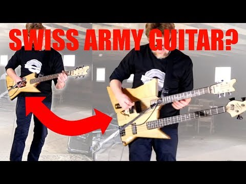 Interchangeable Multi Neck Guitar - The Multitar