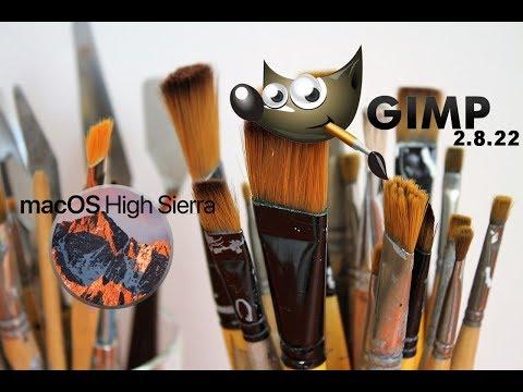 GIMP: Installing Brushes in macOS High Sierra