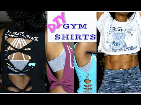 How-To | DIY Gym Shirts