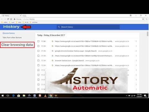 How to Auto Clear Browser History When You Close the Chrome Browser